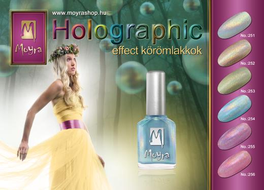 Moyra Holographic effect körömlakkok!