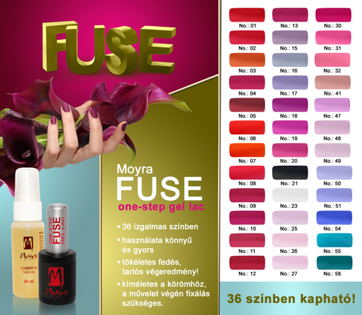 Moyra Fuse One-Step Gel Lac
