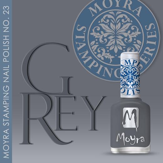 Új Nyomdalakk érkezett: SP 23, Grey!