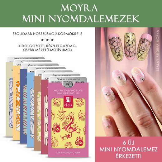6 új Moyra mini nyomdalemez érkezett!
