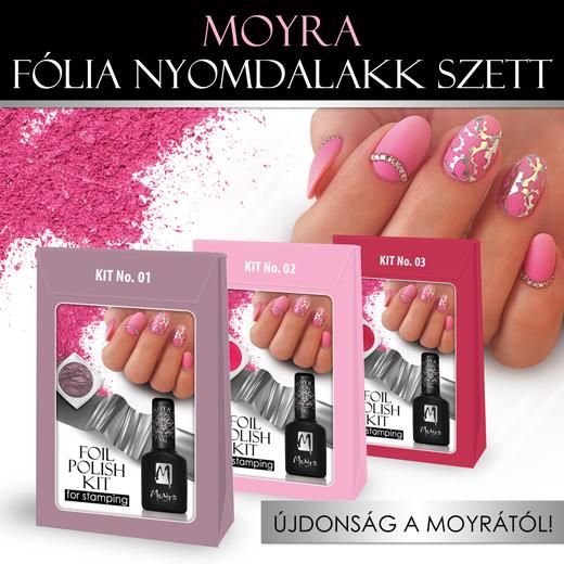 Újdonság: Moyra Fólia nyomdalakk szett!