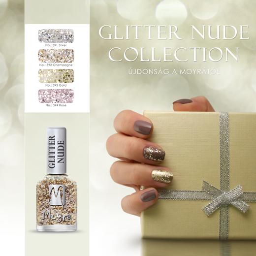 Újdonság: Moyra Glitter Nude Effect körömlakkok!