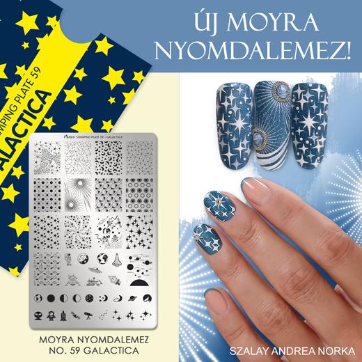 Új Moyra Nyomdalemez: No.59 Galactica!