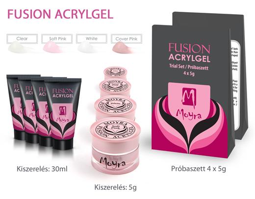 Újdonság: Moyra Fusion Acrylgel!