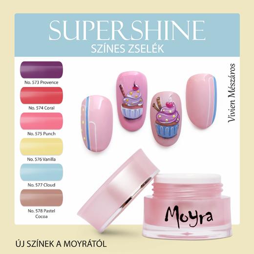 Új Moyra SuperShine színes zselék!