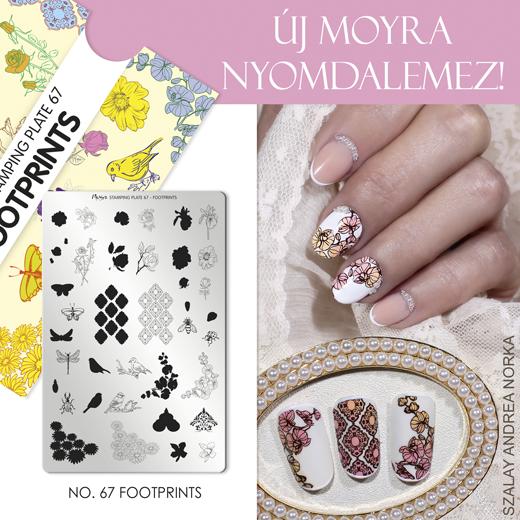 Új Moyra Nyomdalemez: No.67 Footprints!