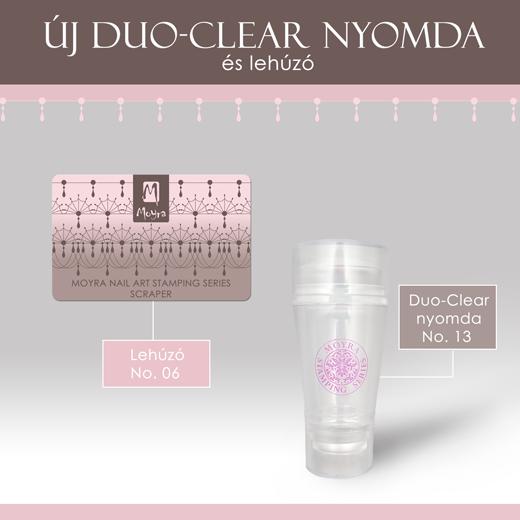 Új Moyra Duo-Clear nyomda és Lehúzó