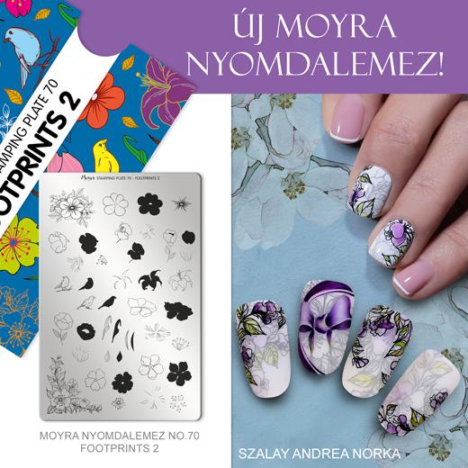 Új Moyra Nyomdalemez: No.70 Footprints 2!