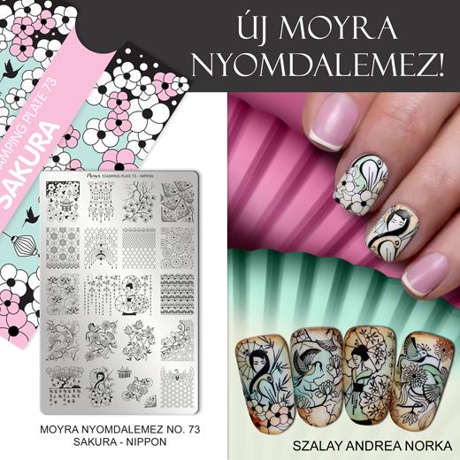 Új Moyra Nyomdalemez: No.73 Sakura-Nippon!