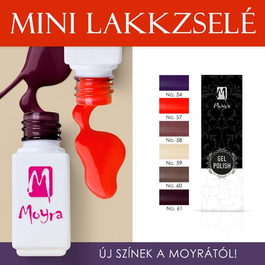 Új Moyra mini lakkzselé színek!
