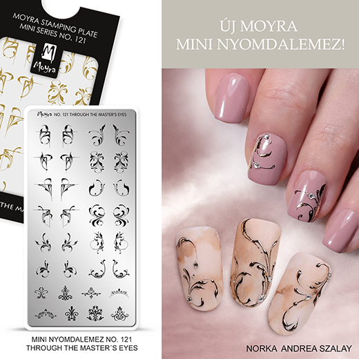 Új Moyra Mini Nyomdalemez: No. 121 Through the master's eye!