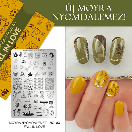 Új Moyra Nyomdalemez: No. 83 Fall in love!