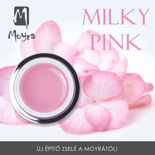 Moyra Milky Pink építõ zselé!